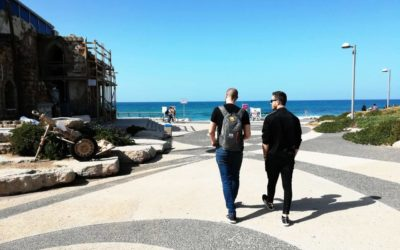 EMBIO CEO visiting startup nation in Tel Aviv, Israel. Best place to discuss BELD applications