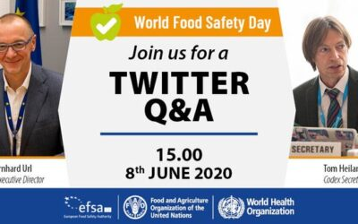 'Food safety is everyone's business, now and in the future' – celebrating World Food Safety Day 2020