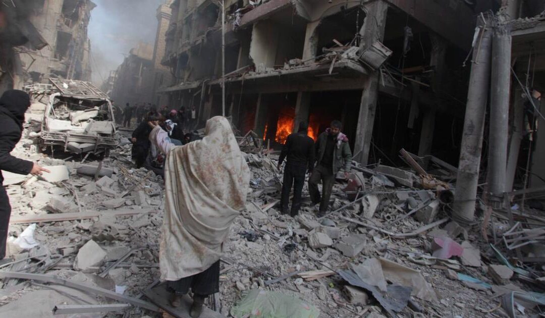 Seven years of Syria's health tragedy