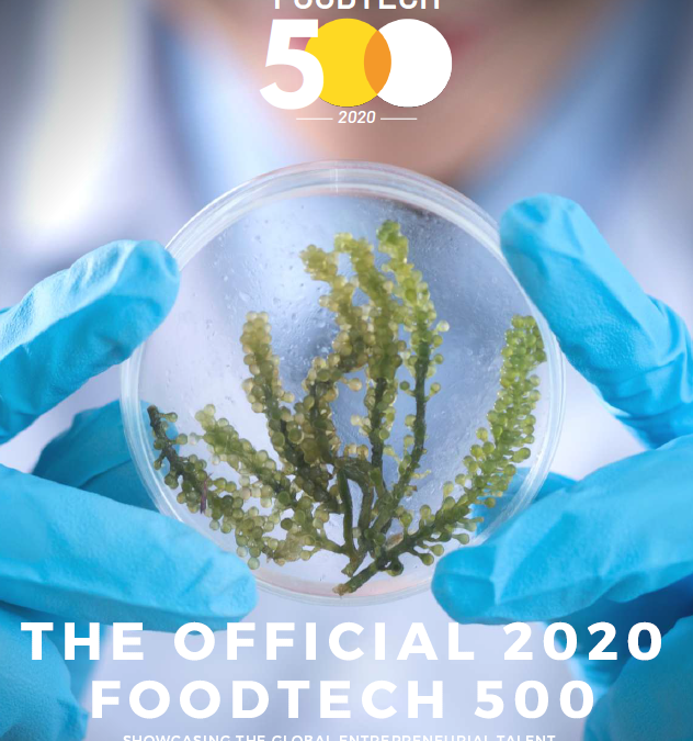 Foodtech 500 – EMBIO Diagnostics Selection as 2020 Finalist